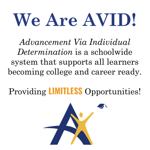 We Are AVID!