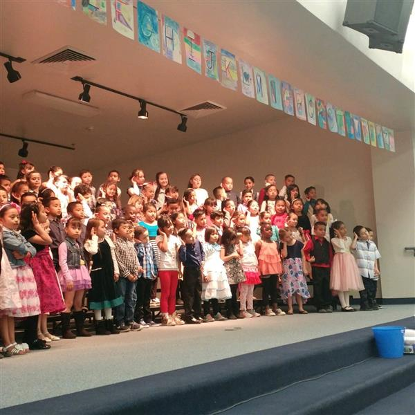 1st Grade Music Performance