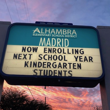 Now Enrolling Kindergarten 2019/2020