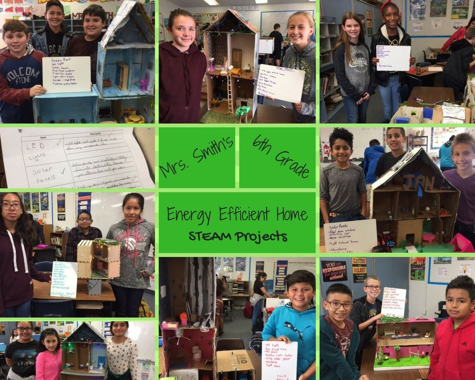 Mrs. Smith's 6th Grade - Energy Efficient Home