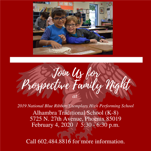 ATS prospective family night