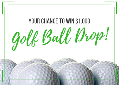 Your chance to win $1,000 at a golf ball drop
